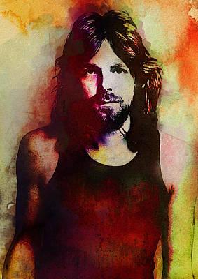 Pink Floyd Digital Art - Rick Wright. Pink Floyd. by Best Actors