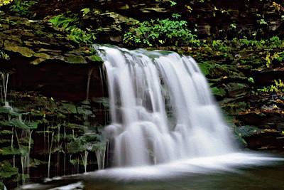 Photograph - Ricketts Glen Falls 022 by Scott McAllister