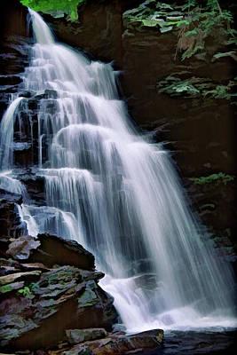 Photograph - Ricketts Glen Falls 027 by Scott McAllister