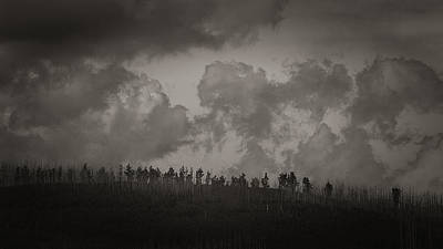 Photograph - Ridgeline by Tim Nichols