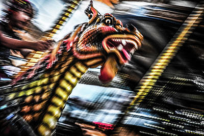Photograph - Riding A Dragon by Michael Arend