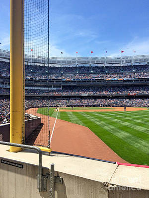 Yankee Stadium Bleachers Photograph - Yankee Stadium_right Field3 by All Island Promos