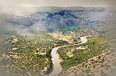 Photograph - The Rio Grande River by Diana Angstadt