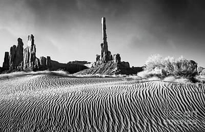 Art Print featuring the photograph Rippled Dunes by Scott Kemper