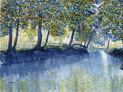 Painting - Ripples And Reflections by Glenn Marshall