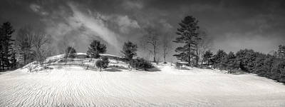 Photograph - Ripples In The Snow by Guy Whiteley