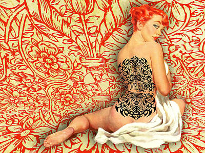 Painting - Rise Ink by Tony Rubino