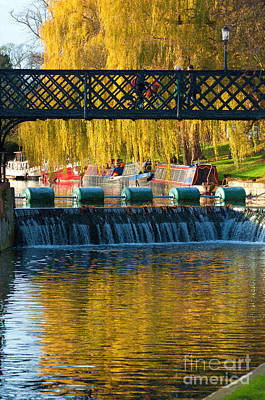 Cambridge Photograph - River Cam by Andrew Michael