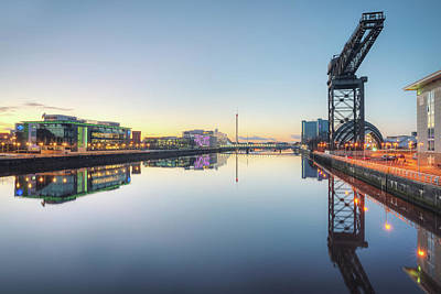 Photograph - River Clyde by Ray Devlin