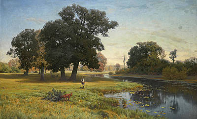 Painting - River Gnilitsa by Vladimir Donatovich Orlovsky