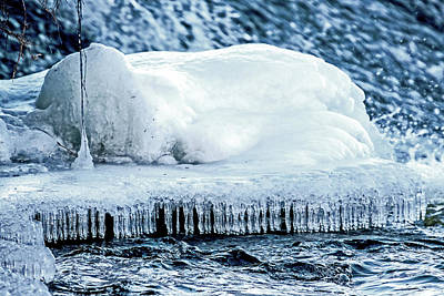Music Figurative Potraits - River Ice by Ira Marcus