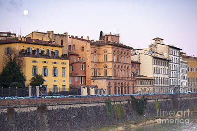 River In Florence Art Print by Andre Goncalves