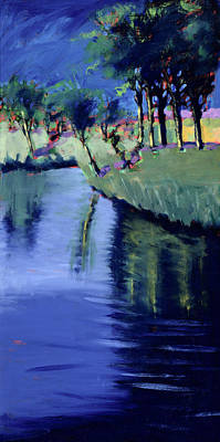 River Scenes Painting - River  by Paul Powis