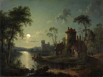 Painting - River Scene by Sebastian Pether