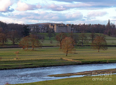 Photograph - River Tweed And Floors Castle by Phil Banks