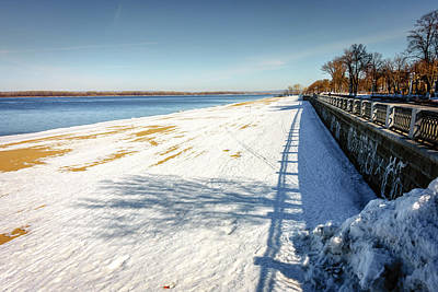 Photograph - Riverwalk Along The Volga River by Alexey Stiop
