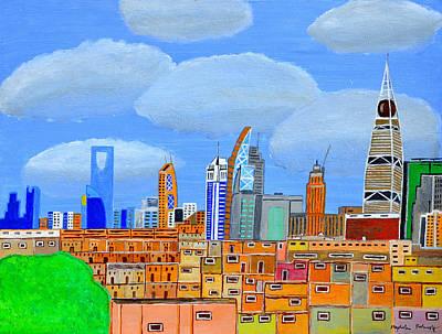 Painting - Riyadh, Saudi Arabia by Magdalena Frohnsdorff