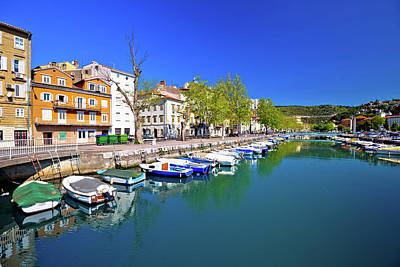 Photograph - Rjecina River In Rijeka Panoramic View by Brch Photography