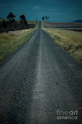 Photograph - Road Out In The Countryside by Rob D
