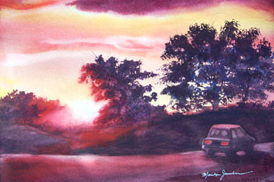 Painting - Road To Fargo by Marilyn Jacobson
