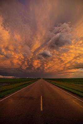 Photograph - Road To Mammatus  by Aaron J Groen