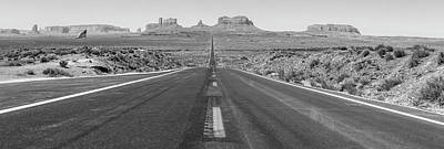 Photograph - Road To Monument Valley  by John McGraw