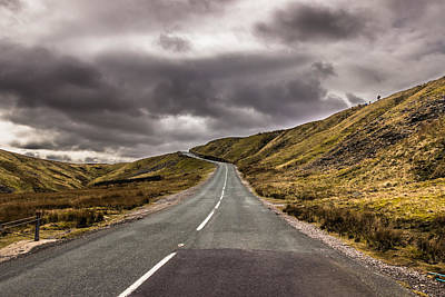 Photograph - Road To Nowhere by David Warrington