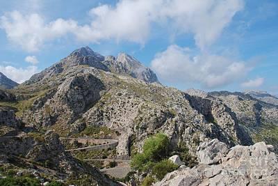 Photograph - Road To Sa Calobra On Majorca by David Fowler