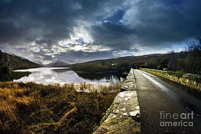 Photograph - Road To Snowdon by Ian Mitchell