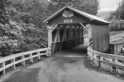 Photograph - Road To The Packsaddle Covered Bridge by Adam Jewell
