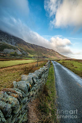 Roman Photograph - Road To Winter by Adrian Evans