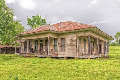 Photograph - Arkansas Roadside House by Victor Culpepper