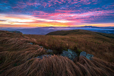 Photograph - Roan Mountain Sunrise by Serge Skiba