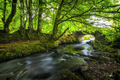 Devon Photograph - Robber's Bridge - England by Joana Kruse