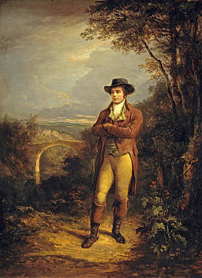 Painting - Robert Burns by Alexander Nasmyth
