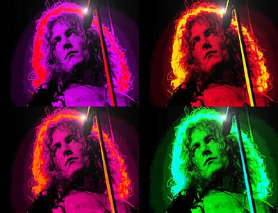 Robert Plant Digital Art - Robert Plant by Martin James