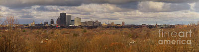 Photograph - Rochester Winter Panorama by William Norton