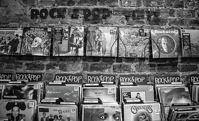 Shop Hip Hop Photograph - Rock And Pop Vinyl by Anne McLuckie