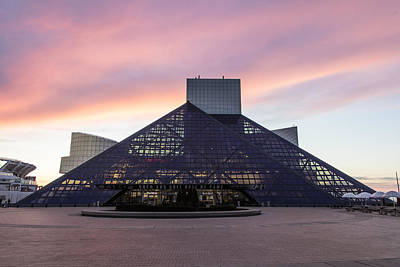 Photograph - Rock And Roll Hall Of Fame In Cleveland by John McGraw
