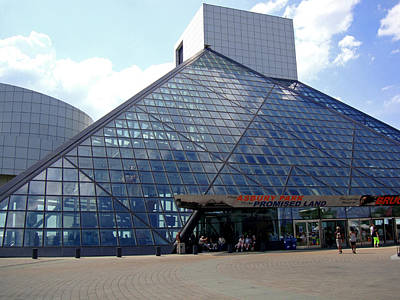 Photograph - Rock And Roll Hall Of Fame by Michiale Schneider
