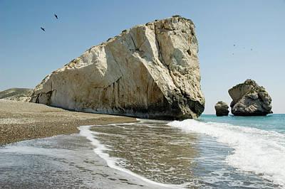 Photograph - Rock Of Aphrodite by Jeremy Voisey