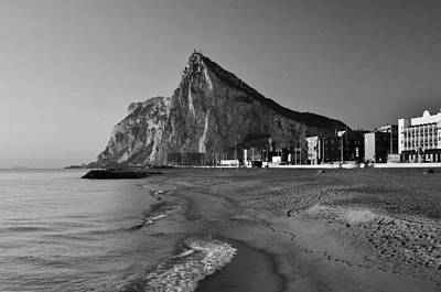 Photograph - Rock Of Gibraltar by Marek Stepan