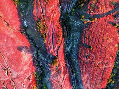 Photograph - Rock Quarry by Chris M