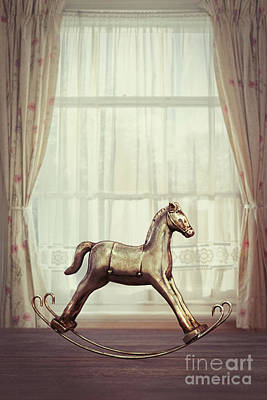 Rocking Horse Art Print by Amanda Elwell