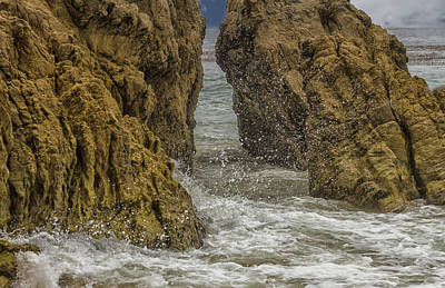 Photograph - Rocks And Water by Robert Hebert