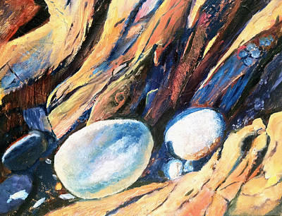 Painting - Rocky Beach by Lynne Atwood