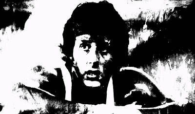 Stallone Mixed Media - Rocky by Brian Reaves