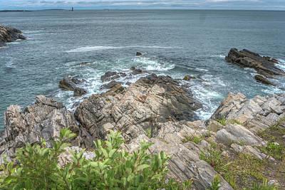 Photograph - Rocky Coast by Jane Luxton