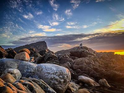 Photograph - Rocky Dusk by Alistair Lyne