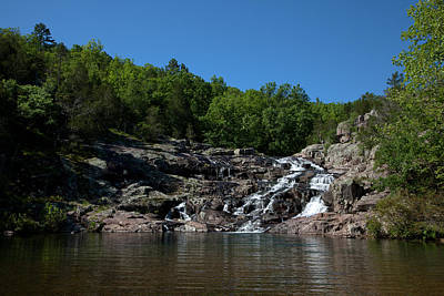 Photograph - Rocky Falls by Scott Sanders